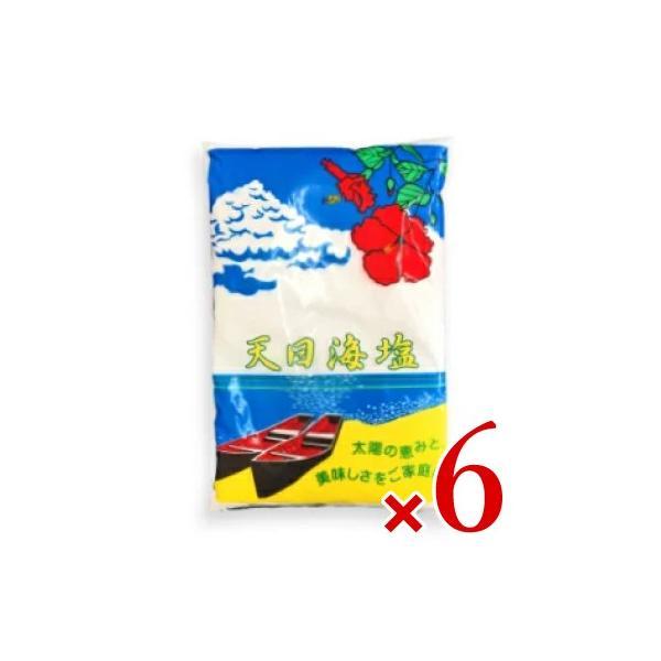 天日海塩 750g × 6袋 ピュアソルト