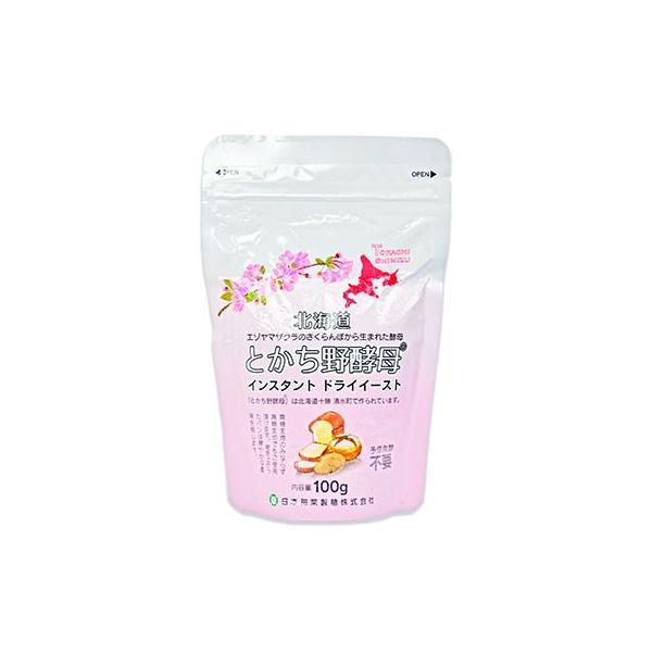 とかち野酵母 インスタント ドライイースト 100g 日本甜菜製糖