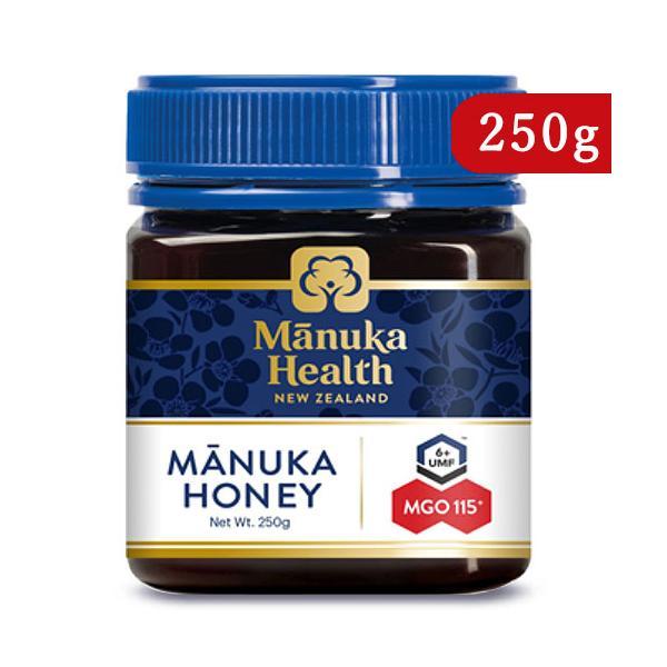 富永貿易 マヌカヘルス マヌカハニー MGO115+ / UMF6+ 250g 正規輸入品