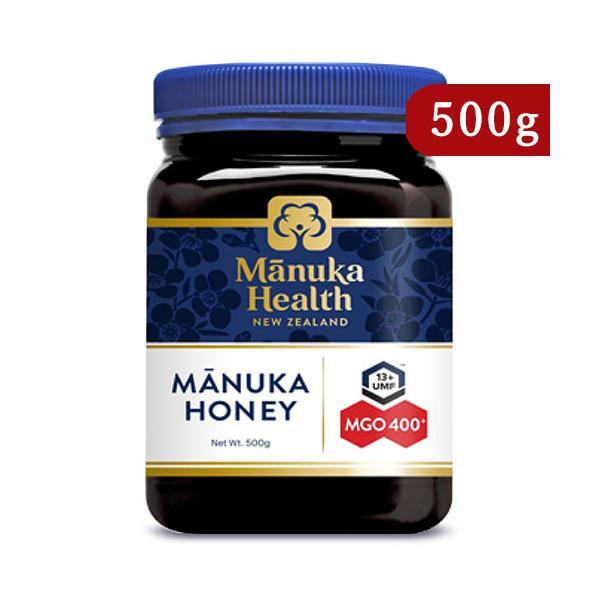 富永貿易 マヌカヘルス マヌカハニー MGO400+ / UMF13+ 500g 正規輸入品