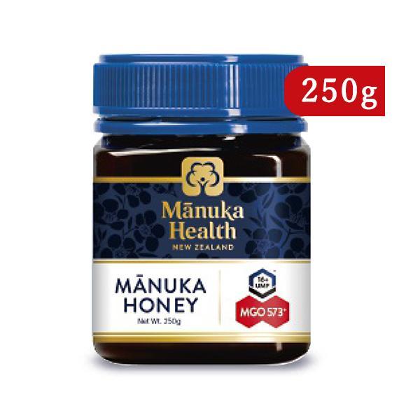 富永貿易 マヌカヘルス マヌカハニー  MGO573+ / UMF16+ 250g 正規輸入品
