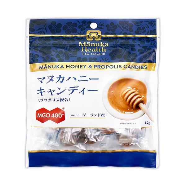 マヌカヘルス マヌカハニーキャンディー プロポリス配合 80g