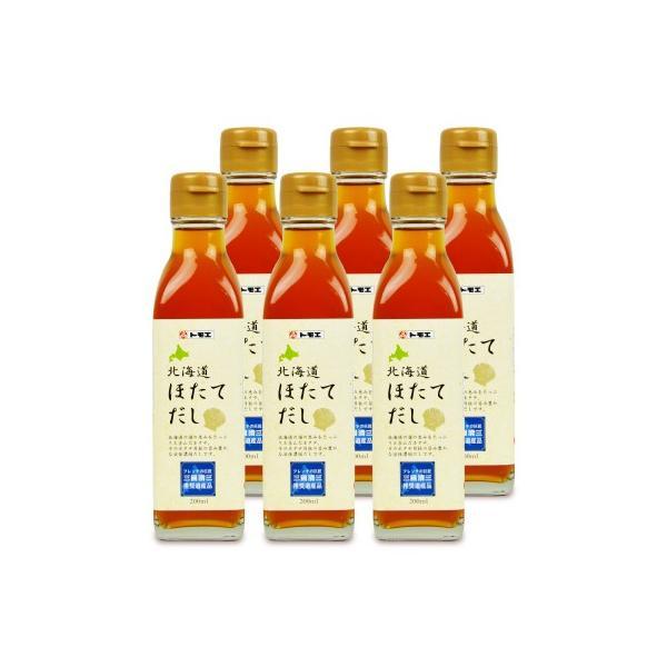 福山醸造 トモエ 北海道ほたてだし200ml × 6個