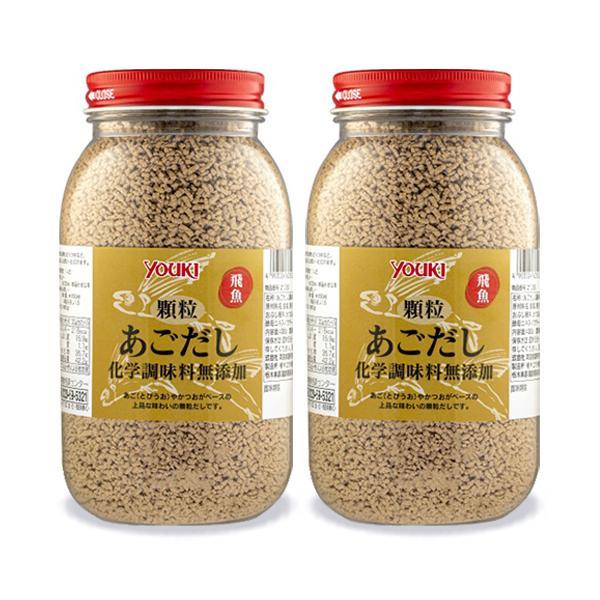 ユウキ食品 顆粒あごだし化学調味料無添加 400g × 2個 セット
