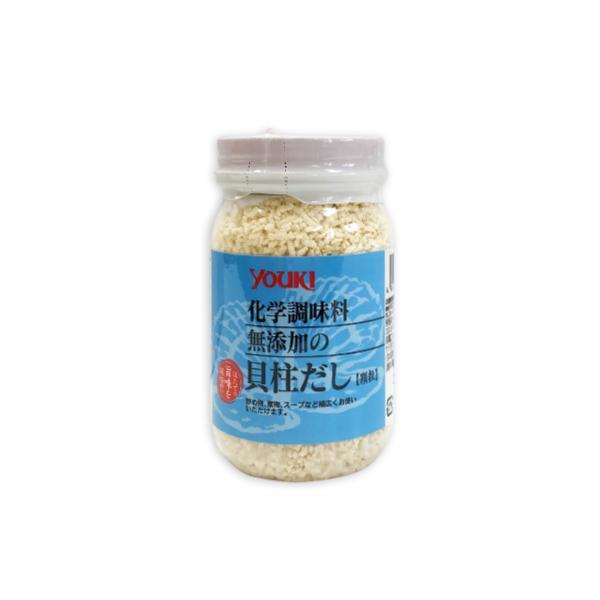 ユウキ食品 化学調味料無添加の貝柱だし 顆粒 110g
