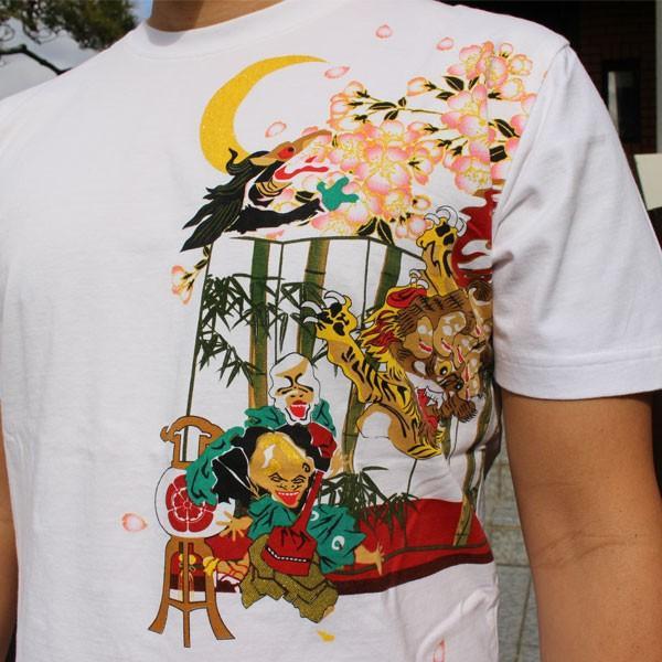和柄 Tシャツ 半袖 刺繍 メンズ 大きいサイズ 龍 2018年新作 tsutsumiya 08