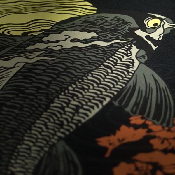 和柄 Tシャツ 半袖 メンズ 鯉 大きいサイズ|tsutsumiya|05