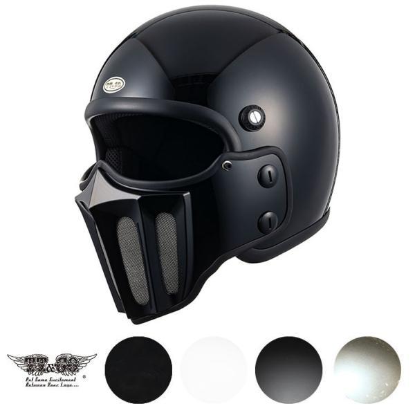 マッドマッスク J02 ローマン マスク付 ジェットヘルメット SG/PSC規格品 フルフェイス|ttandco