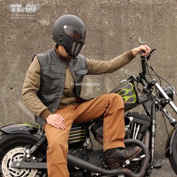 マッドマッスク J02 ローマン マスク付 ジェットヘルメット SG/PSC規格品 フルフェイス|ttandco|04