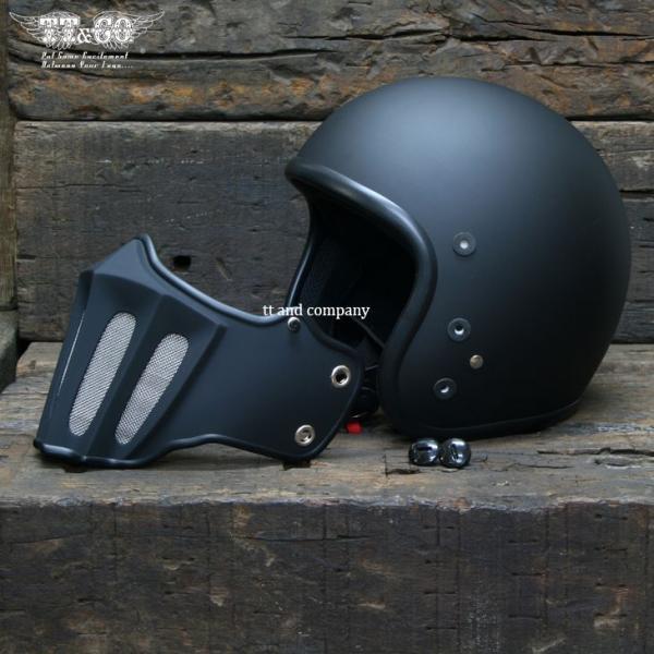 マッドマッスク J02 ローマン マスク付 ジェットヘルメット SG/PSC規格品 フルフェイス|ttandco|05