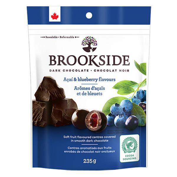 冷蔵 ブルックサイド ダークチョコレート アサイー&ブルーベリー 235g BROOKSIDE