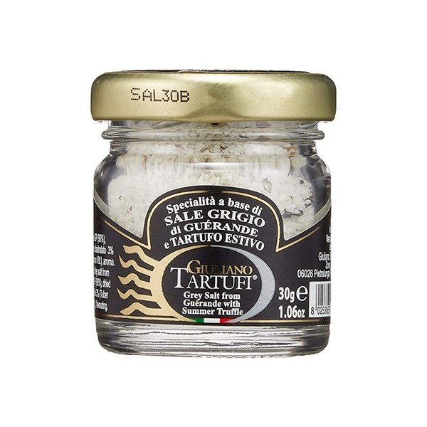 イタリア産 サマートリュフ入り ゲランド塩 瓶 30g