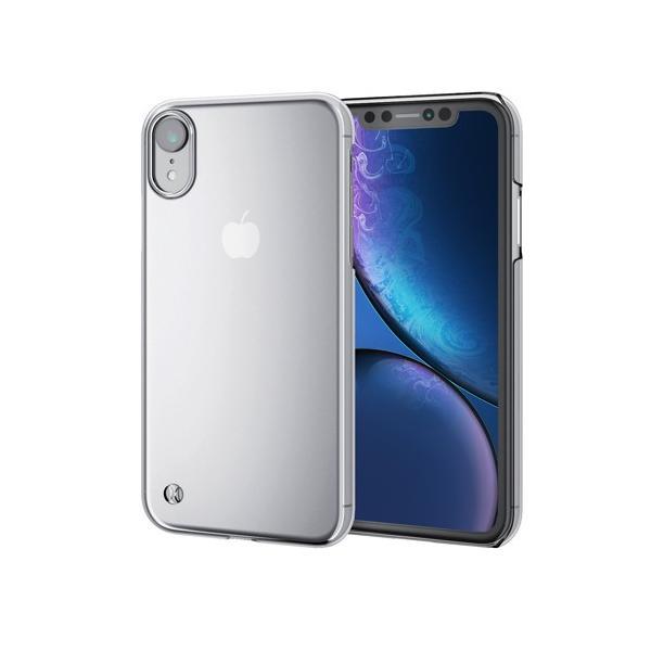 エレコム iPhone XR/シェルカバー/ストラップホール付/クリア PM-A18CPVSTCR|tuhan-station