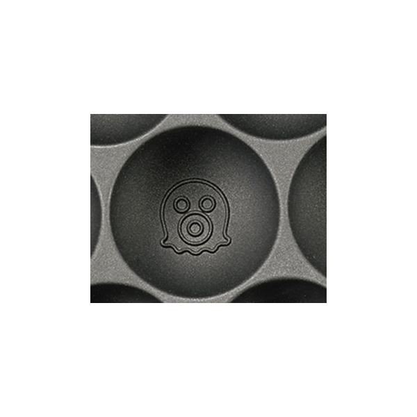 電気 たこ焼き器/調理家電 〔310×235×85mm〕 日本製 温度調節機能付き アルミ 『ツーツーにこにこたこやきちゃん早焼き』|tuhan-station|03