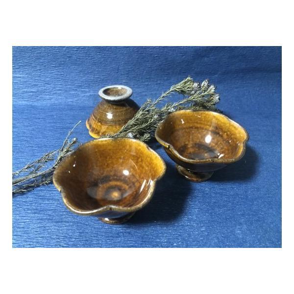 器うつわおしゃれ作家物古谷製陶所古谷浩一器皿さら鉢はちモダンデザートでざーと飴色素敵な器あたたかい器あたたかいお皿