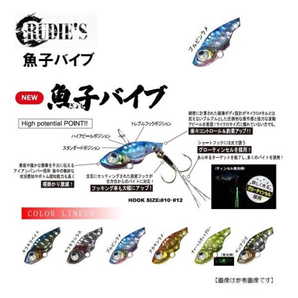ルーディーズ 魚子バイブ 2.5g ブルピンラメメール便配送可|turiguno-fishers|02