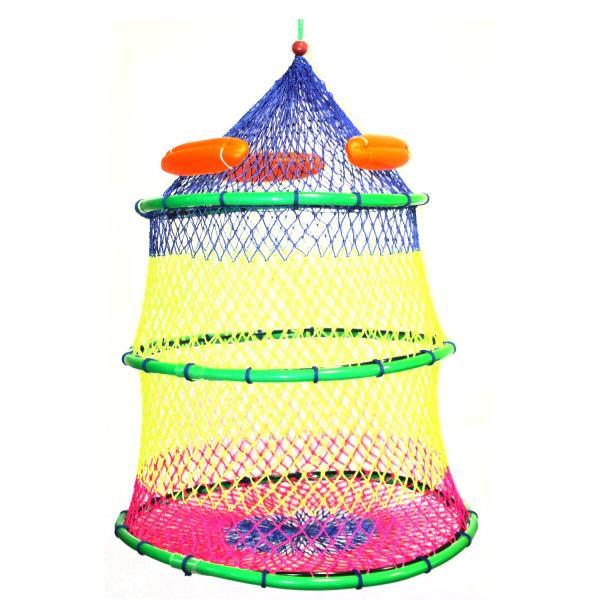 磯用スカリ 磯スカリレインボーナイロン太糸 50cm3段 丈夫 柔らかい糸使用