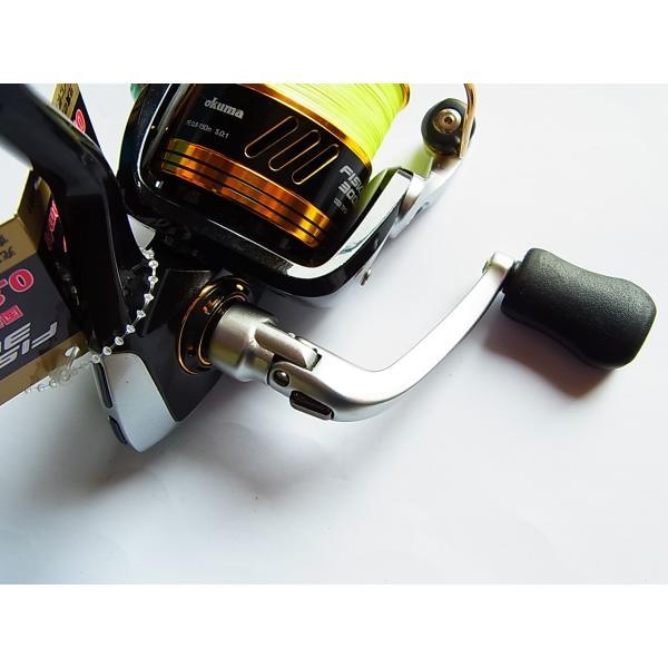 特価 オクマ okuma FISKER 3000/0.8 PEライン付