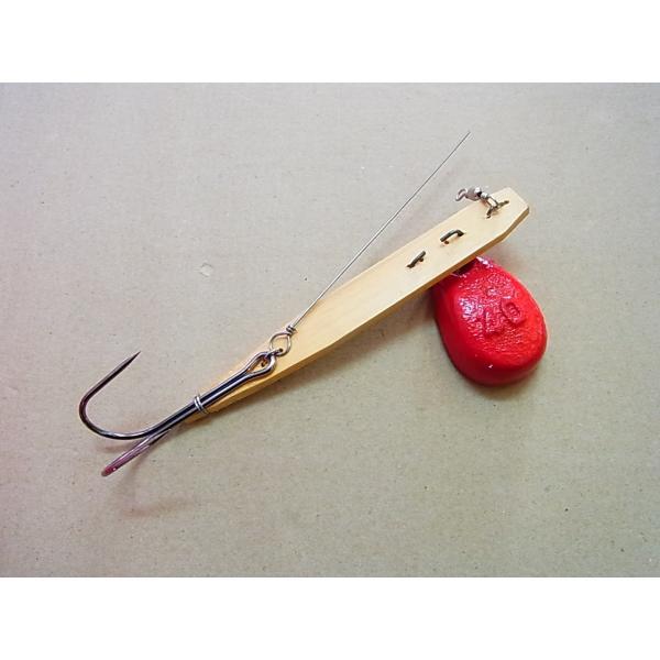 特価 マルシン漁具 竹タコ掛 2本針 40匁
