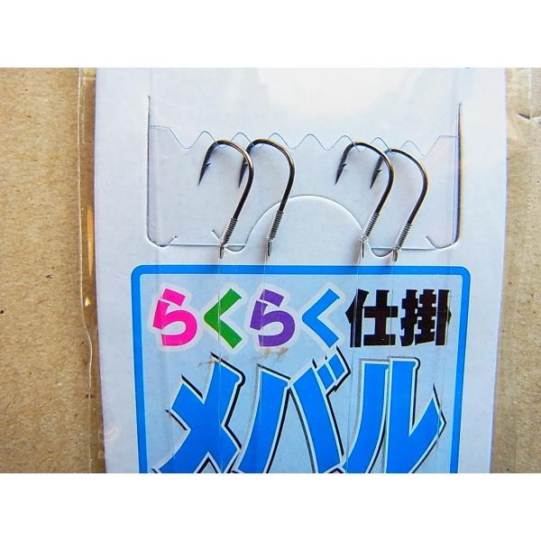 マルシン漁具 らくらく仕掛 メバルウキ釣り 2本針