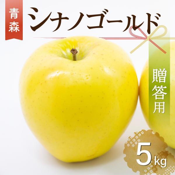 2021年産【 数量限定 】青森県産りんご 贈答用 シナノゴールド 5kg(約12玉〜20玉)産地直送 工藤農園 お歳暮 ギフト 内のし付き