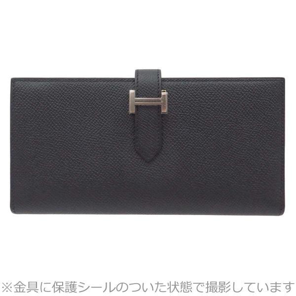 エルメス ベアンスフレ 長財布 二つ折り財布 未使用品 【財布】|turuya783
