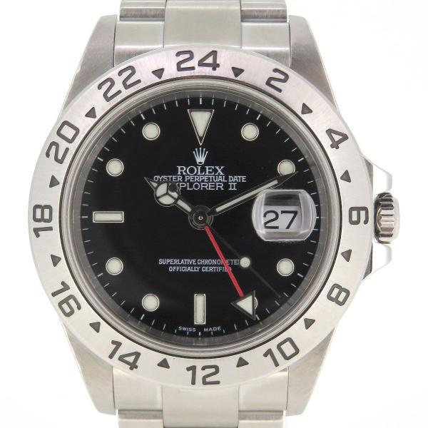 ロレックス エクスプローラ2 メンズ Y番 2002年製造 EX-II 【時計】 turuya783