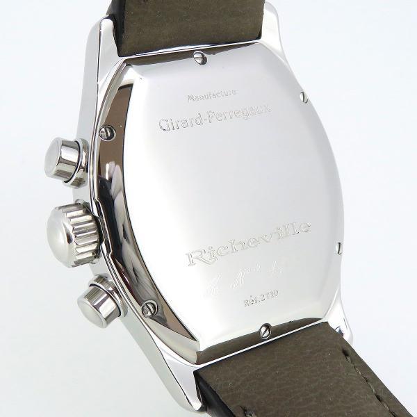 ジラールペルゴ リシュビル クロノグラフ メンズ ギャラ付 【時計】|turuya783|05