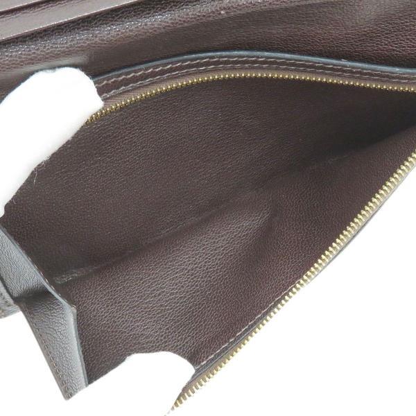 エルメス ベアンクラシック 長財布 二つ折り財布 ダークブラウン 【財布】 turuya783 06