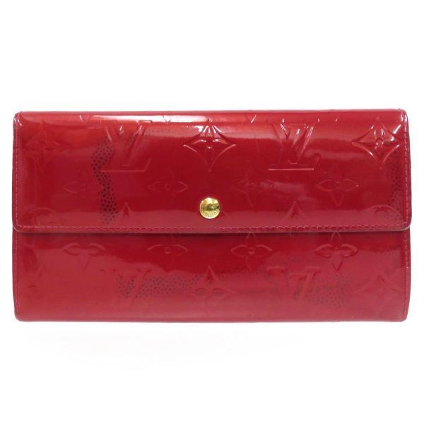 ルイヴィトン ポルトフォイユ サラ ヴェルニ 長財布 M93530 二つ折り財布 【財布】|turuya783