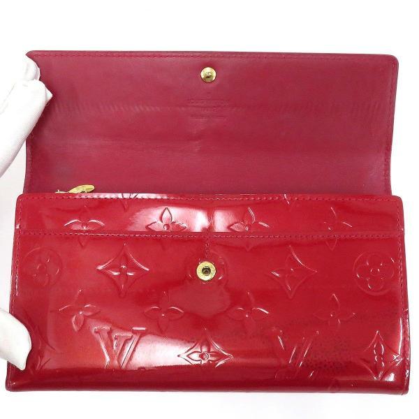 ルイヴィトン ポルトフォイユ サラ ヴェルニ 長財布 M93530 二つ折り財布 【財布】|turuya783|04