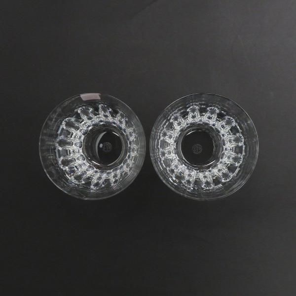 バカラ エトナ ロックグラス ペア 2104385 2客セット グラス タンブラー クリスタルガラス 美品 【陶磁器・ガラス製品】 turuya783 03