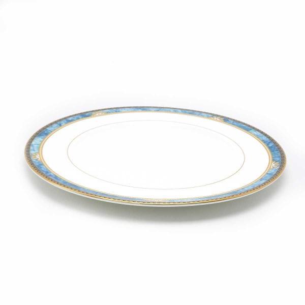 ウェッジウッド カーゾン BB/27.5cm プレート 2点 スクエア 金彩 美品 【陶磁器・ガラス製品】|turuya783|03