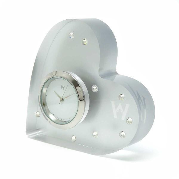 ウェッジウッド ウェッジウッド ハート ブリスタイム クロック 置き時計 クォーツ時計 美品 【陶磁器・ガラス製品】|turuya783|02