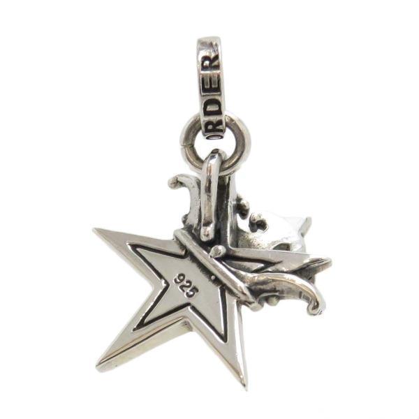ロイヤルオーダー スモール スター WITH クラウン ペンダントトップ 星 王冠 SMALL SOLID STAR WITH CROWN SV925 【ジュエリー】|turuya783|02
