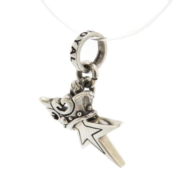 ロイヤルオーダー スモール スター WITH クラウン ペンダントトップ 星 王冠 SMALL SOLID STAR WITH CROWN SV925 【ジュエリー】|turuya783|03