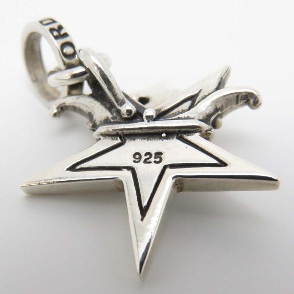 ロイヤルオーダー スモール スター WITH クラウン ペンダントトップ 星 王冠 SMALL SOLID STAR WITH CROWN SV925 【ジュエリー】|turuya783|04
