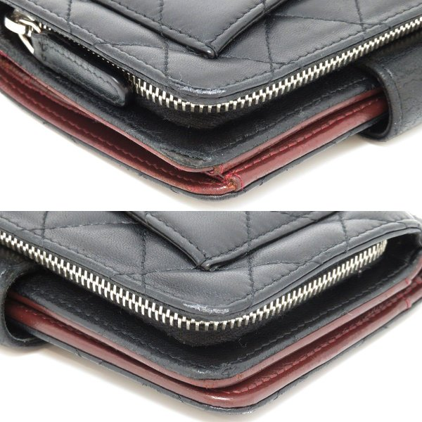 シャネル 二つ折り財布 マトラッセ 2つ折り財布 A48667 ココマーク 【財布】 turuya783 03
