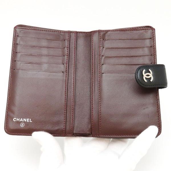 シャネル 二つ折り財布 マトラッセ 2つ折り財布 A48667 ココマーク 【財布】 turuya783 04