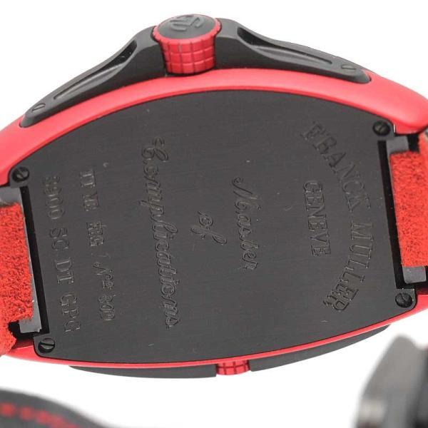 フランクミュラー コンキスタドール グランプリ メンズ ハイテク素材 自動巻|turuya783|05