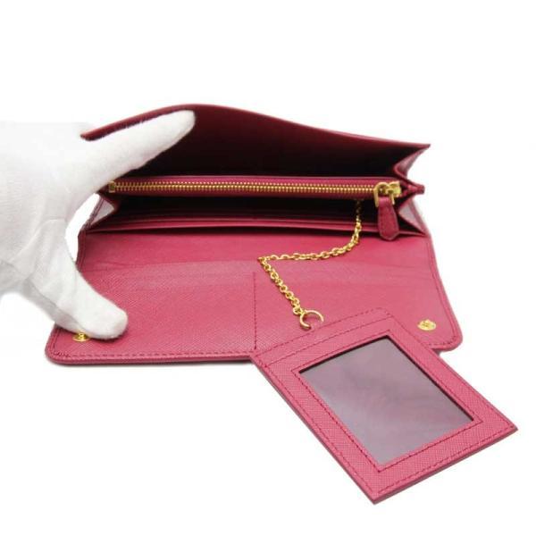 PRADA プラダ 長財布 ピンク 二つ折り長財布 1MH132 ZLP F0BA8 未使用品 turuya783 05