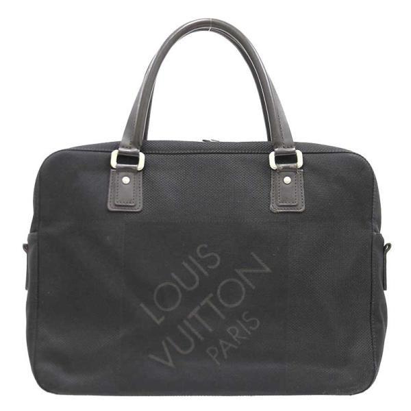 LOUIS VUITTON ルイヴィトン ヤック ダミエ ジェアン ビジネスバッグ M93082 黒 書類バッグ ハンドバッグ ショルダーバッグ 2way 中古|turuya783|02