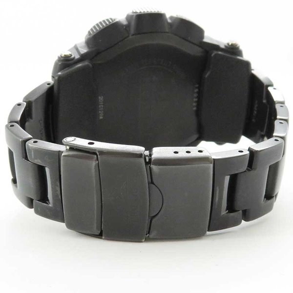 カシオ プロトレック ブラックチタンリミテッド メンズ PRO TREK 電波時計|turuya783|05