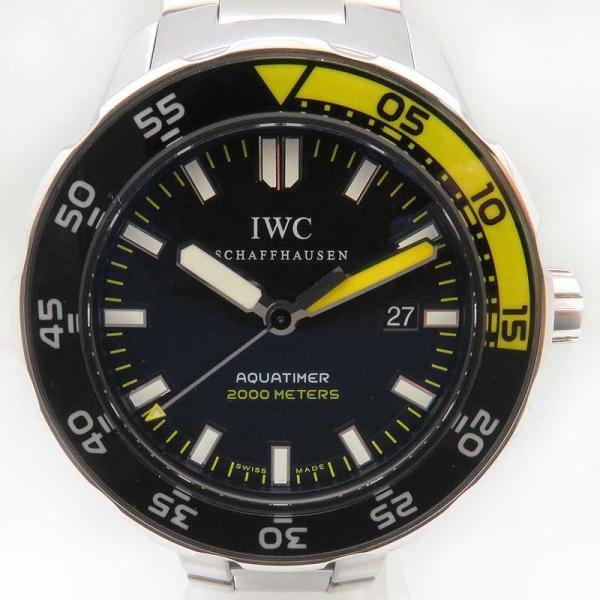 IWC アクアタイマー オートマティック 2000 メンズ 正規ギャラ付 ダイバーズ|turuya783