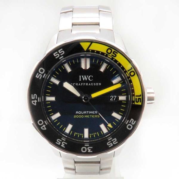 IWC アクアタイマー オートマティック 2000 メンズ 正規ギャラ付 ダイバーズ|turuya783|02