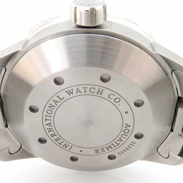 IWC アクアタイマー オートマティック 2000 メンズ 正規ギャラ付 ダイバーズ|turuya783|05