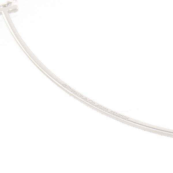 新品仕上げ Tiffany ティファニー K18WG ダイヤモンド Tスマイル ネックレス ティファニーT|turuya783|04