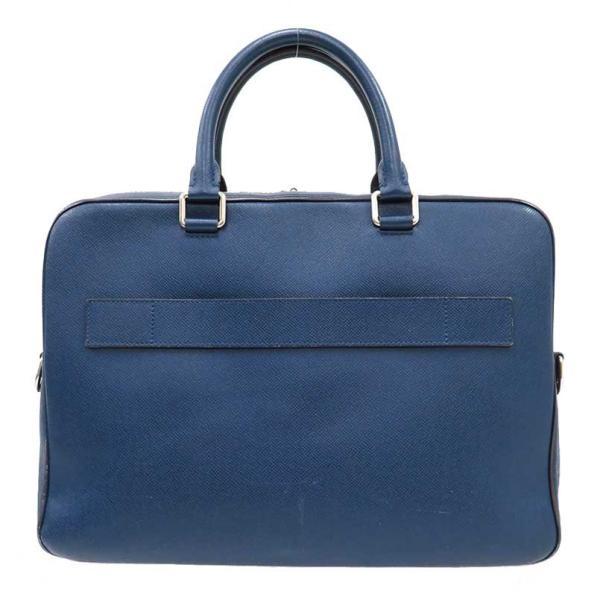 LOUIS VUITTON ルイヴィトン PDB PM タイガ ビジネスバッグ M32716 書類ケース ブルー 中古|turuya783|02