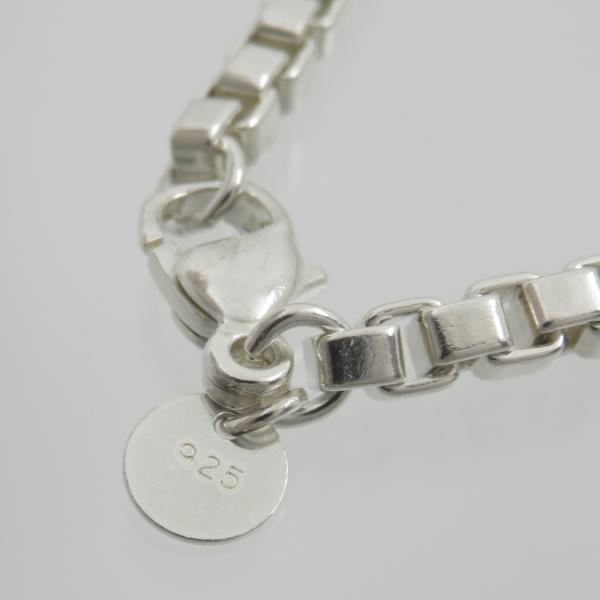 ティファニー Tiffany SV925 ベネチアン リンク ブレスレット 腕回り18cm|turuya783|02