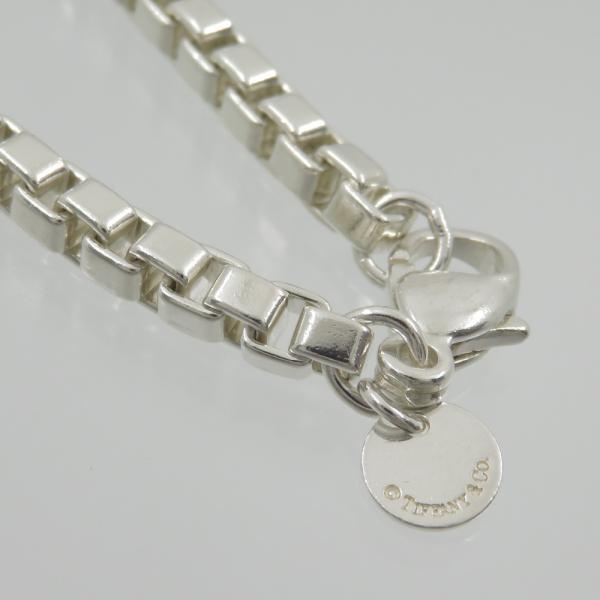 ティファニー Tiffany SV925 ベネチアン リンク ブレスレット 腕回り18cm|turuya783|04
